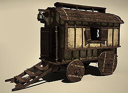 carriage_lowpoly_3d_thumb